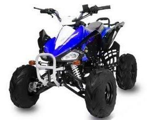 """Dětská čtyřkolka Speed 125cc modrá 7"""" kola"""