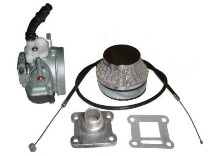 Tuningový karburátor 15mm minibike minicross dětská čtyřkolka