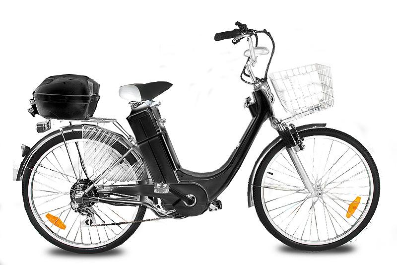 """Elektrokolo City Bike 26"""" černé"""