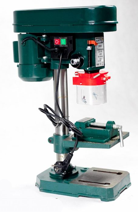 Stolní sloupová vrtačka Eurotek DP201 1450 Wattů silný motor
