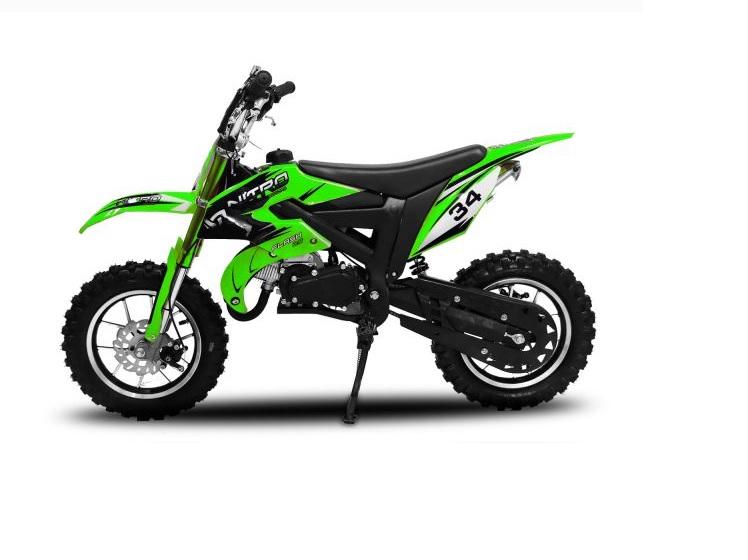 "Minicross Flash Sport 10"" zelená mini cross"