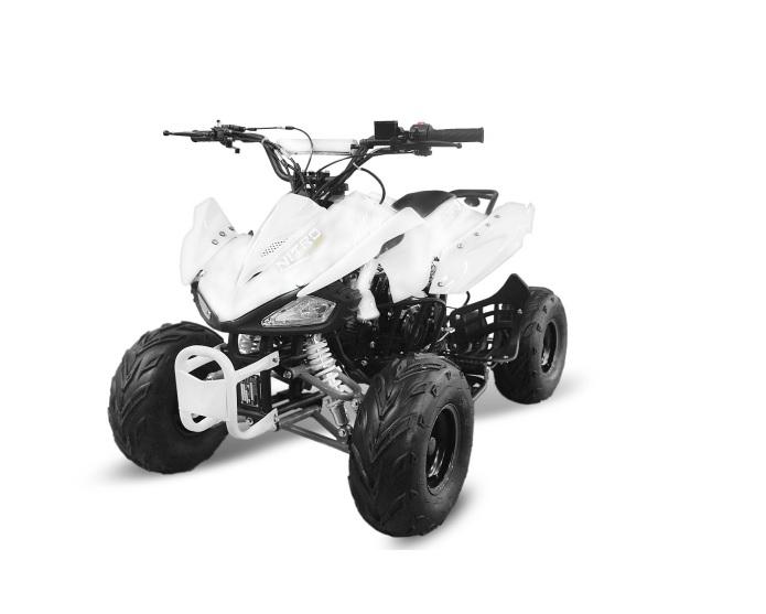 """Dětská čtyřkolka Speed 125cc bílá 7"""" kola"""