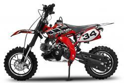 "Minicross Flash Sport 10"" červená mini cross"