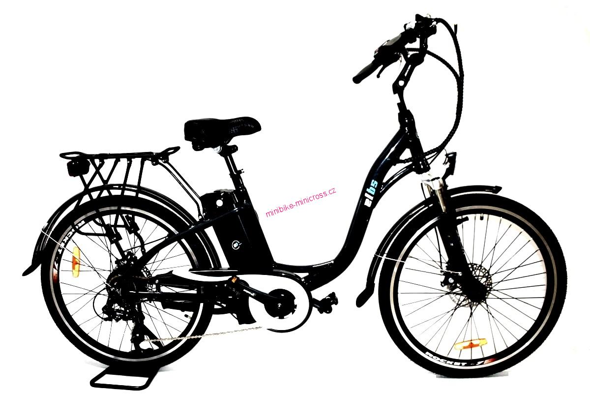 "Elektrokolo City Bike Lady 26"" černé"