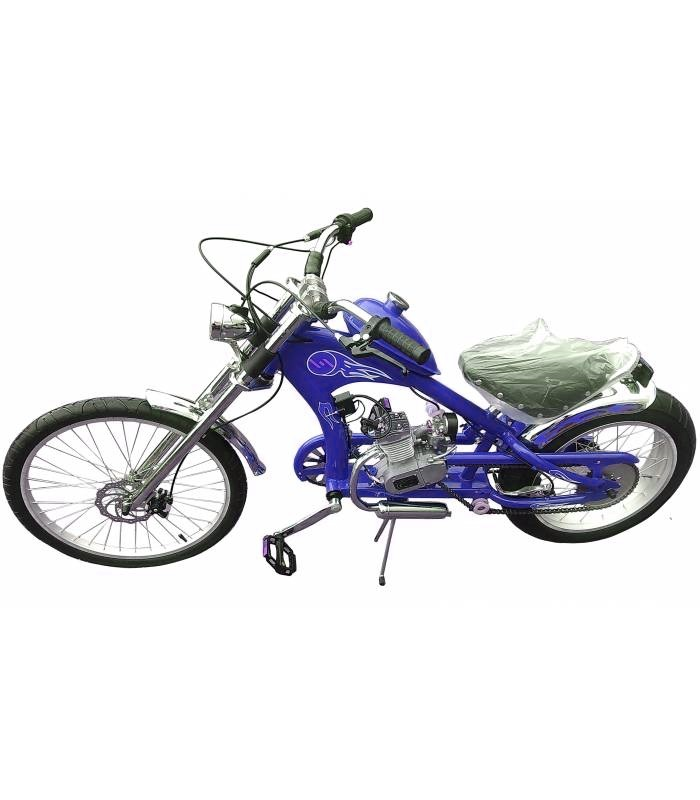 Motokolo Chopper 80cc blue