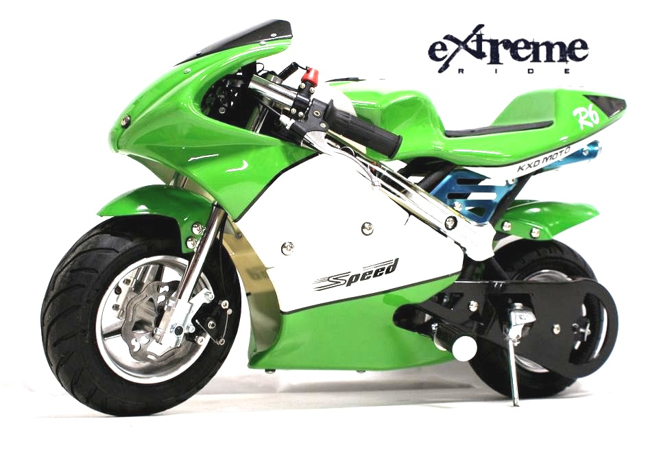 Minibike Speed 49cc green