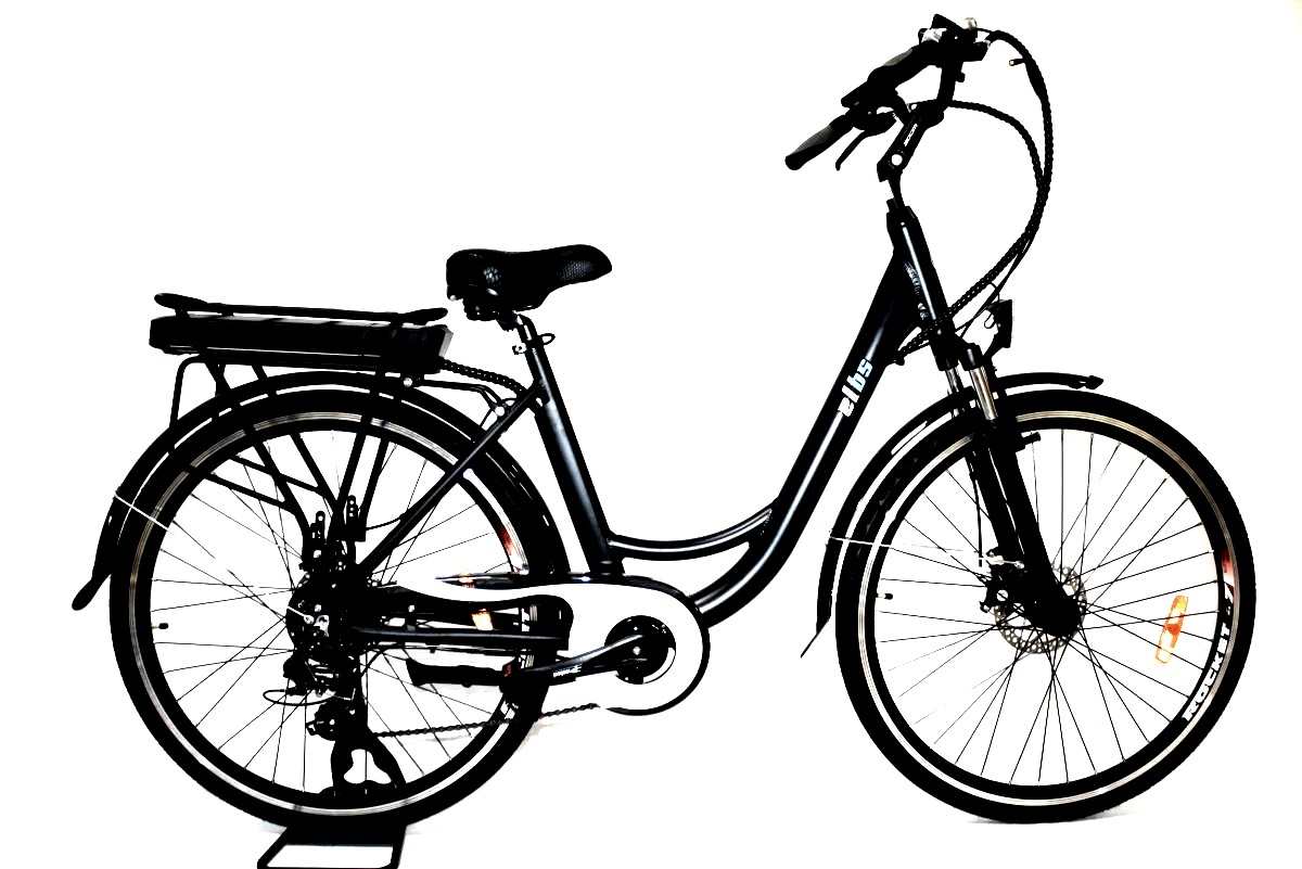 "Elektrokolo City Bike Lady 28"" černé"
