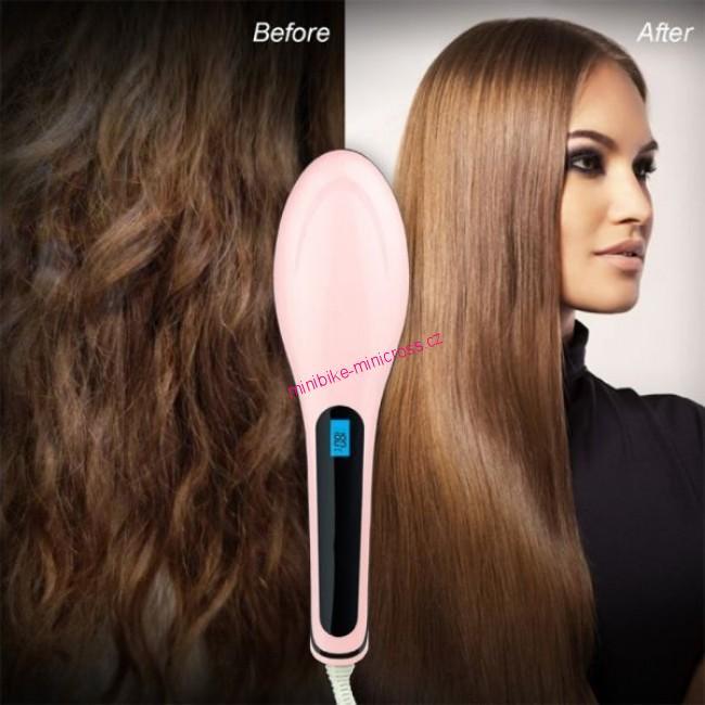 ionizující kartáč na vlasy