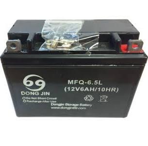 Baterie pro čtyřkolku 12V 6,5Ah