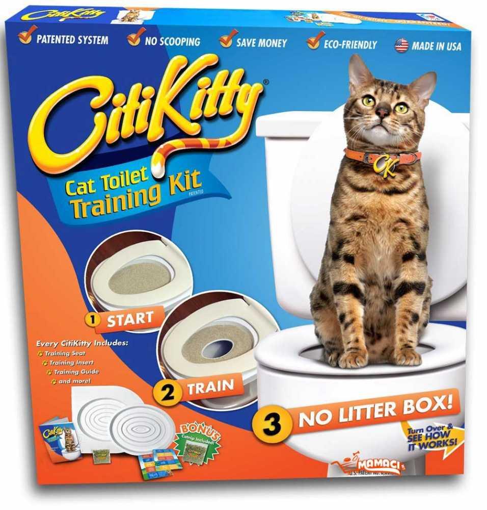 Citi Kitty toaleta pro kočku na wc prkénko